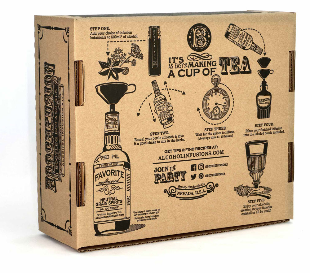 Bootleg Botanicals DIY Craft Spirits Kit