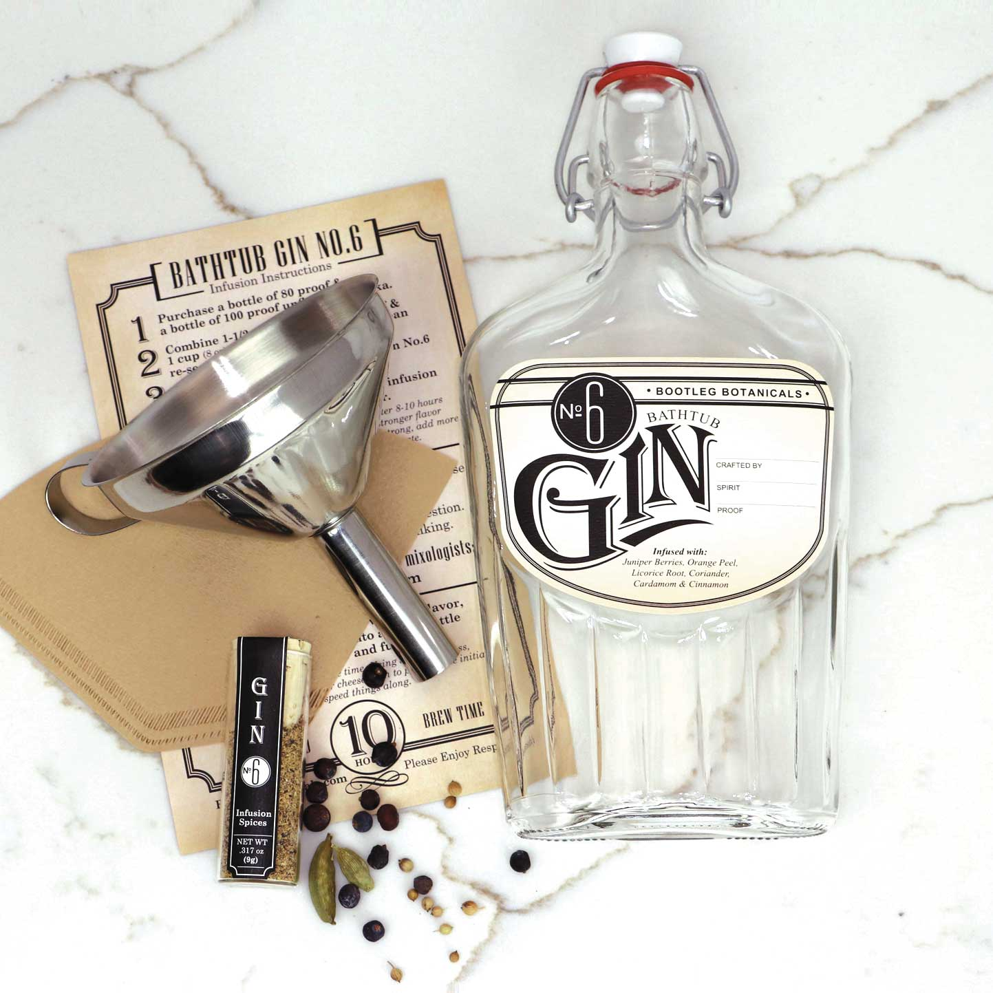DIY Gin Recipe — Dishmaps