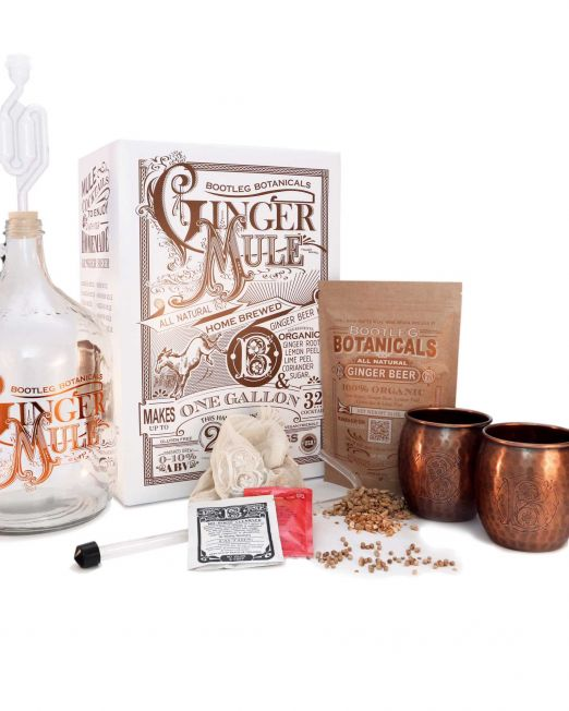 Bootleg Botanicals™ Ginger Beer Making Kit