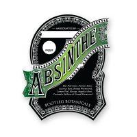 Bootleg Botanicals Vintage Inspired Absinthe Bottle Label