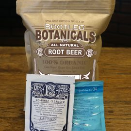 homebrewed root beer ingredients